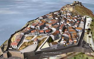 ville en 3d dans google earth
