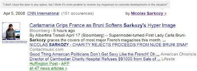 citations dans google news