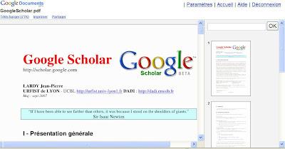 envoyer pdf dans google docs