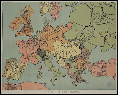 carte premiere guerre mondiale