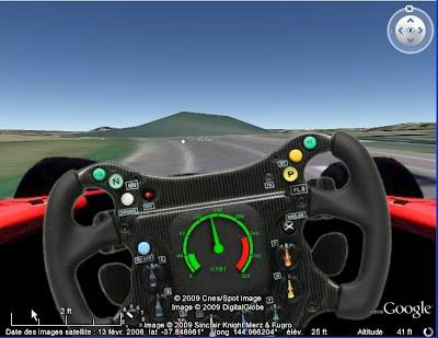 La Formule 1 avec Google Earth