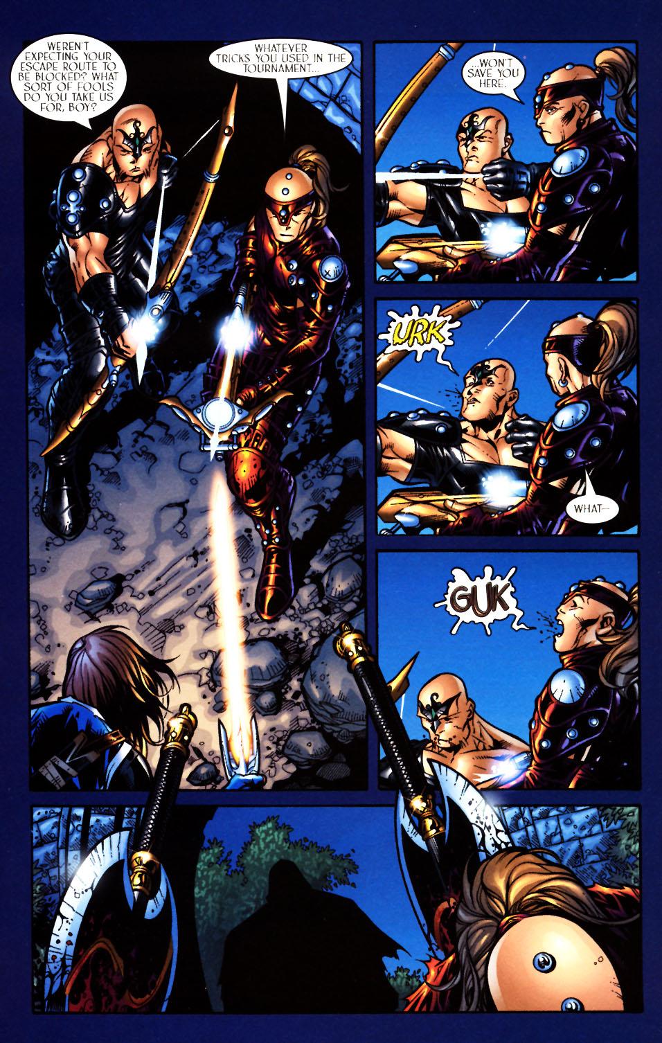 Read online Scion comic -  Issue #4 - 6