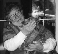 Jacquelinne with dog