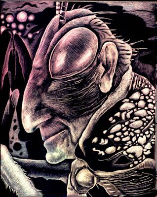 humanoid bug head