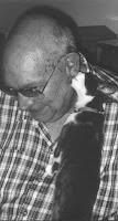 Walt Kopp kitty licked