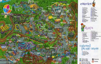 Pin Worlds of fun maps on Pinterest