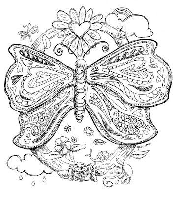 January Coloring Pages Adult