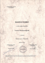 Trenerska licenca KBZS