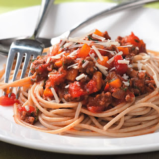 ... too... Here it is...Spaghetti with Quick Meat Sauce..Check it out