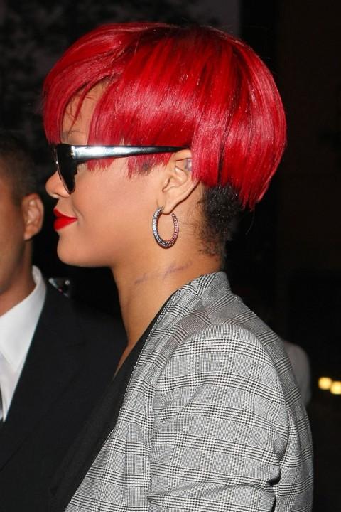 Rihanna S New Tattoo
