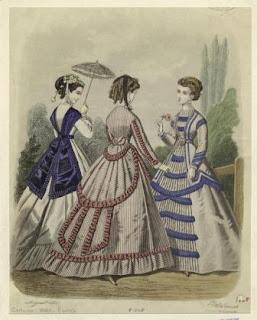Из журнала мод 1860 года