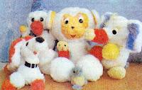Игрушки своими руками из меховых шариков