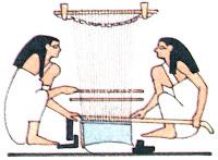 Ткацкий станок в Древнем Египете