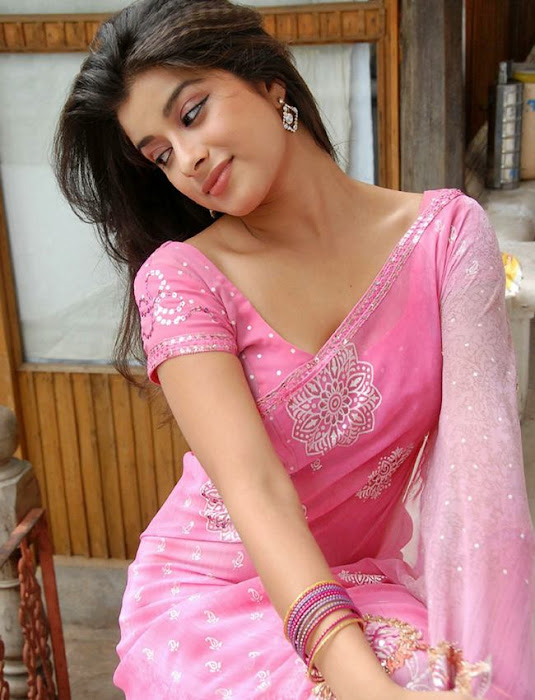 madhurima in pink saree new shoot unseen pics