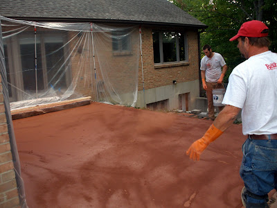"""""""stamped concrete"""