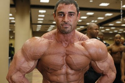 Bodybuilder Mark Alvisi talkin about bodybuilding Mmyths
