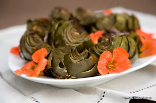 Nasturium is an edible flower that comes in several different colors.
