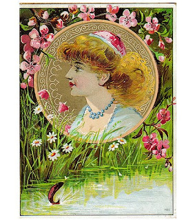 vintage May Day card