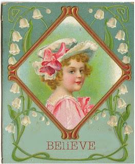 May Day greeting card