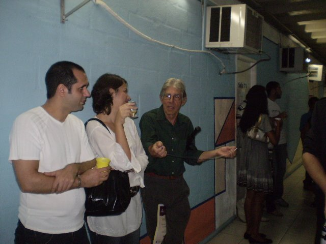 Exposição na Faculdade Cândido Mendes