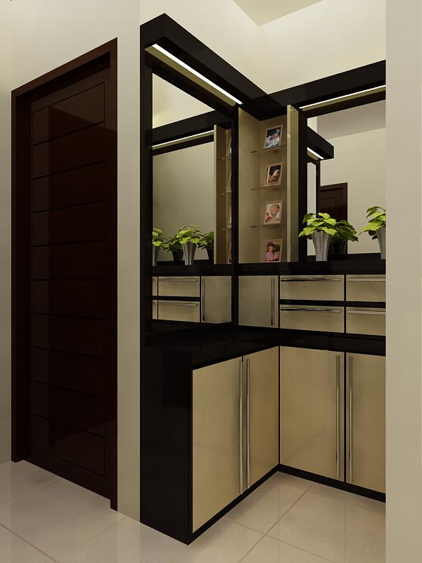 Rak Lemari + Study Room - Modern Minimalist Design