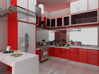 Portfolio Home Kitchen Interior Modern Minimalist Design