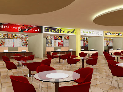 Interior Home Food Court