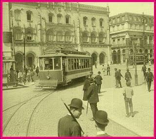 Estação do Rossio, 1926