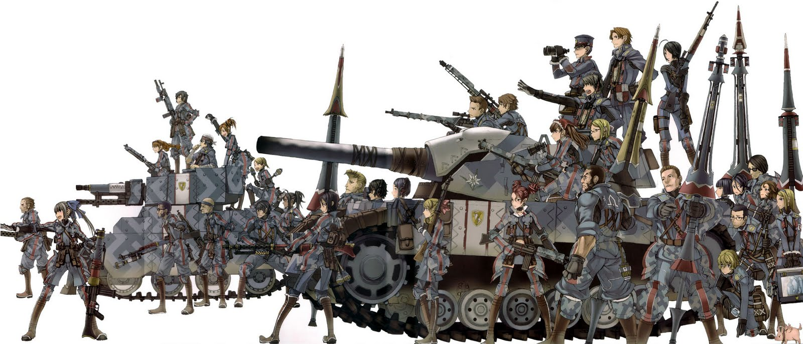 [Game do Mês] - Valkyria Chronicles ValkyriaTeam