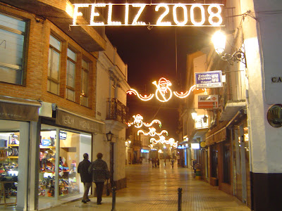 La peatonal Calle Mesones