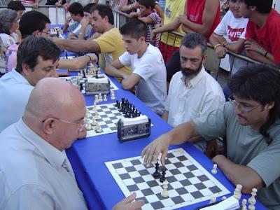 Particpantes en el Torneo de Partidas Rápidas de Ajedrez