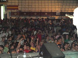 Público durante el concierto