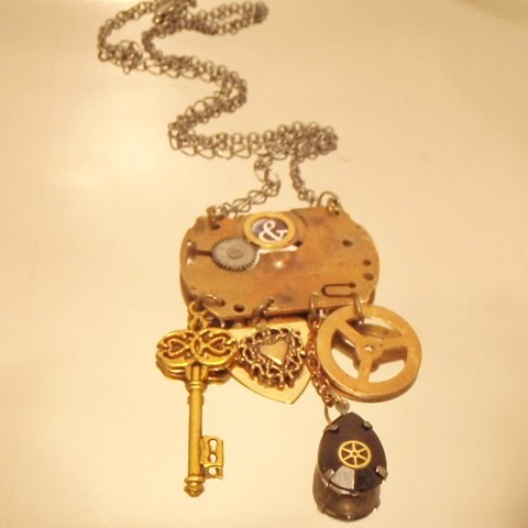 Here are some of my Latest Steampunk Creations  -    Time Traveller Chatelaine