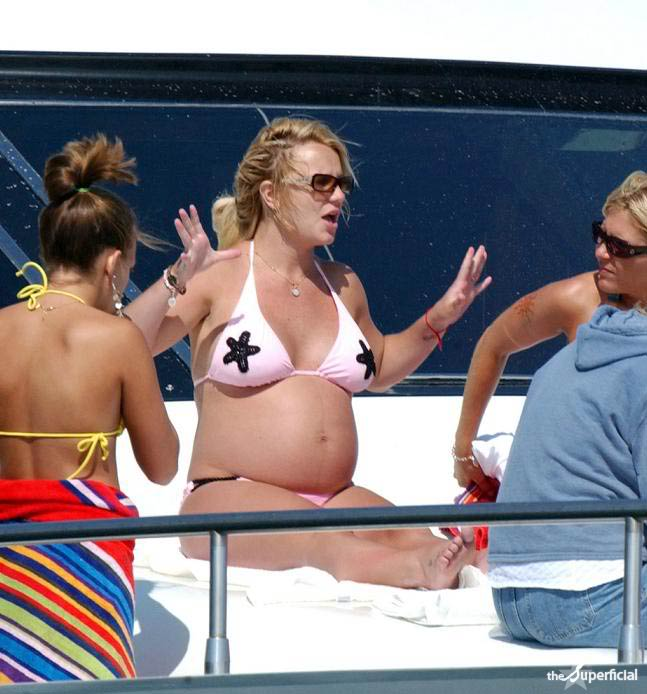 fat people shouldn't wear bikinis. I don't care if you're pregnant.