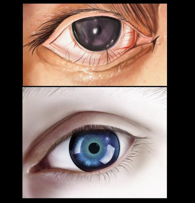 ojos...