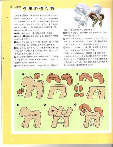 Blog de goanna caballos de tela - Patrones de cabezas de animales de tela ...