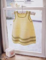 Blog de Goanna: Patrón de Vestido para bebé en Crochet