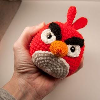 Blog de Goanna: Patrón en Amigurumi de Angry Birds