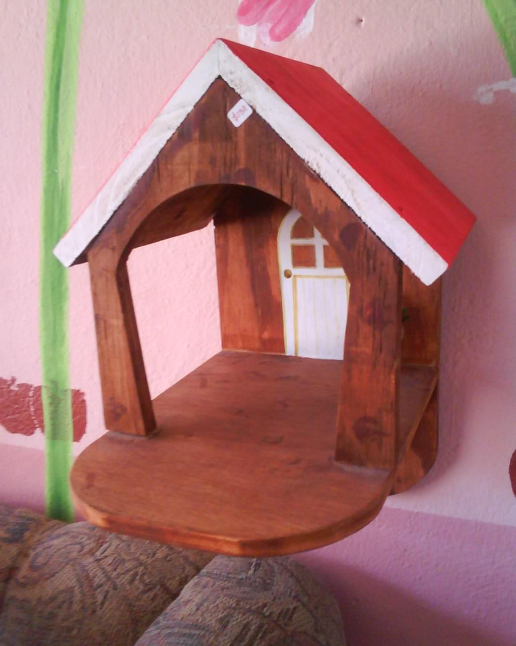 Manos creativas casita para aves - Casita para pajaros ...