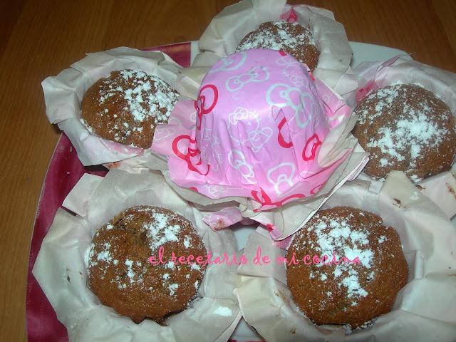 magdalenas de petit suisse y chocolate