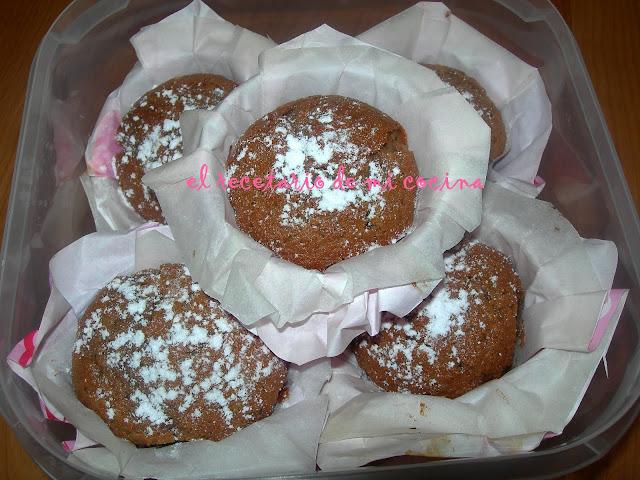 magdalentas de petit suisse y chocolate
