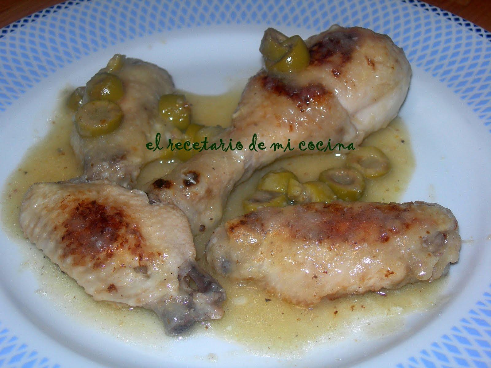 El recetario de mi cocina pollo al lim n - Pollo al limon isasaweis ...