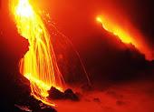 En la voca de un volcán
