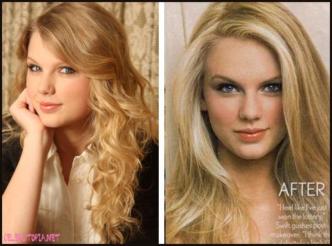 SPECIAL: Taylor Swift's Straight Hair Pics