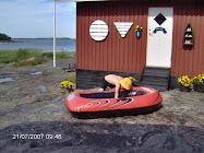 Från sommarstället i Hammarö skärgård