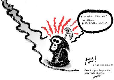 Nando Humor Gráfico: Homenaje a Joan Manuel Serrat. Año 2004