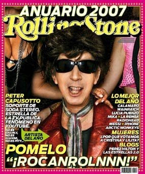 Diego Capusotto. Tapa Rolling Stone Dic 2007