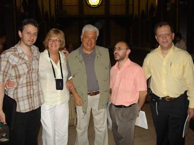 Kappel, Marlene Pohle, Crist, Juan García Cerrada y Nando