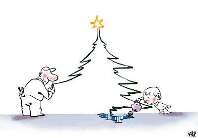 Tarjeta navideña de KAP