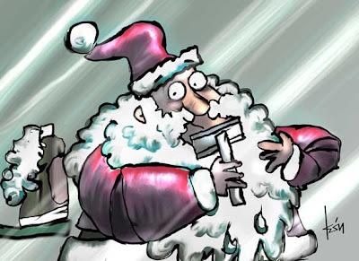 Papá Noel por León